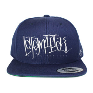 crime family hat w patch FIXED navy