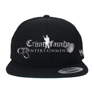 crime family hat with patch