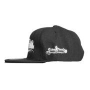 mr criminal hat side shot black