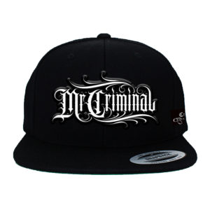 mr criminal hat w patch