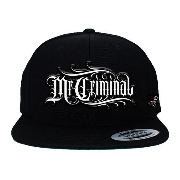 mr criminal hat w patch